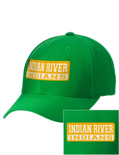 Indian River High School Indians Embroidered Wool Adjustable Cap