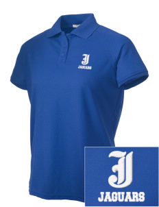 Johnson Elementary School Jaguars Embroidered Women's Technical Performance Polo