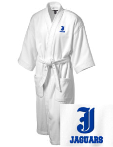 Johnson Elementary School Jaguars Embroidered Terry Velour Robe