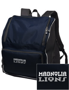 Magnolia Elementary School Lions Embroidered Holloway Backpack