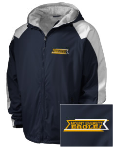 Mount Everett Regional High School Eagles Embroidered Holloway Men's Weather Resistant Full-Zip Jacket