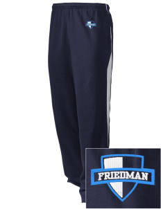 Friedman Middle School Falcons Embroidered Holloway Men's Pivot Warm Up Pants