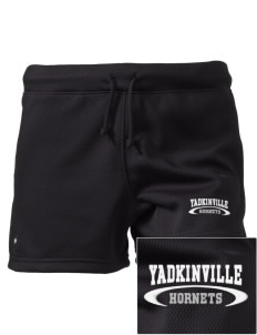 "Yadkinville Elementary School Hornets Embroidered Holloway Women's Balance Shorts, 3"" Inseam"
