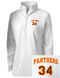 Avon Middle High School Panthers Embroidered Ladies Stretched Half-Zip Pullover