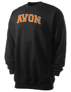 Avon Middle High School Panthers Men's 7.8 oz Lightweight Crewneck Sweatshirt