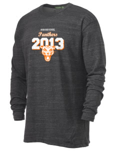 Avon Middle High School Panthers Alternative Men's 4.4 oz. Long-Sleeve T-Shirt