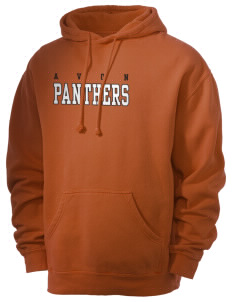 Avon Middle High School Panthers Men's 80/20 Pigment Dyed Hooded Sweatshirt