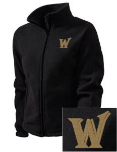 Western New Mexico University Mustangs Embroidered Women's Fleece Full-Zip Jacket