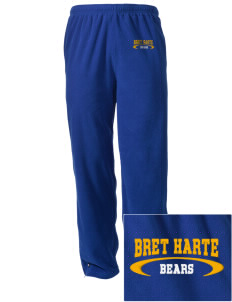 Bret Harte Elementary School Bears Embroidered Holloway Men's Flash Warmup Pants