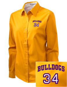 Southwest Community Campus Bulldogs Embroidered Women's Easy-Care Shirt