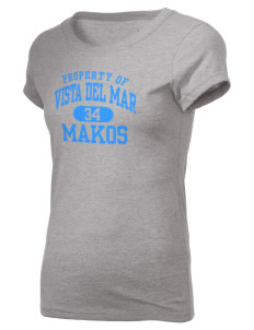 Vista del Mar School Makos Holloway Women's Groove T-Shirt