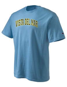 Vista del Mar School Makos Champion Men's Tagless T-Shirt