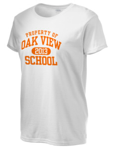 Oak View School Women's 6.1 oz Ultra Cotton T-Shirt