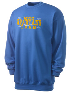 Mason County Central High School Spartans Men's 7.8 oz Lightweight Crewneck Sweatshirt
