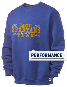 Mason County Central High School Spartans  Russell Men's Dri-Power Crewneck Sweatshirt