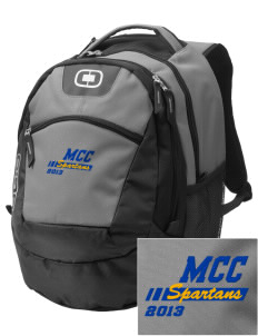 Mason County Central High School Spartans Embroidered OGIO Rogue Backpack