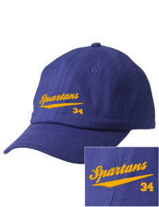 Mason County Central High School Spartans Embroidered Champion 6-Panel Cap