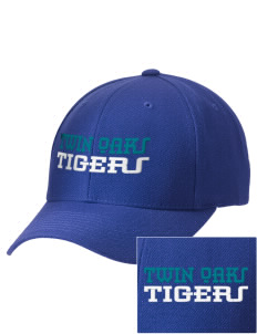 Twin Oaks High School Tiger Embroidered Wool Adjustable Cap