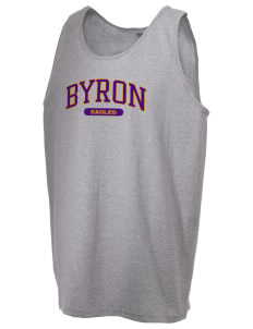 Byron Elementary School Eagles  Men's Ultra Cotton Tank