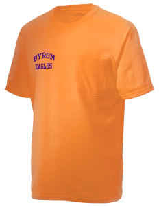 Byron Elementary School Eagles Men's American Classic Pocket T-Shirt