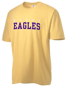 Byron Elementary School Eagles Men's Pigment-Dyed Vintage T-Shirt