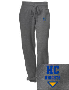 Harvest Christian Academy Knights Embroidered Alternative Women's Unisex 6.4 oz. Costanza Gym Pant
