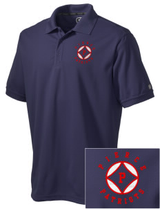 Pierce Middle School Patriots Embroidered OGIO Men's Caliber Polo