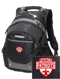 Pierce Middle School Patriots Embroidered OGIO Fugitive Backpack
