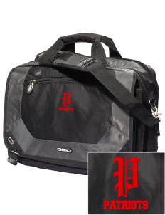 Pierce Middle School Patriots Embroidered OGIO Corporate City Corp Messenger Bag