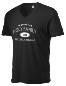 Holy Family Catholic School Blue Angels Alternative Men's 3.7 oz Basic V-Neck T-Shirt