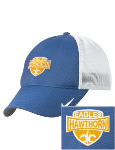 Hawthorn Eagles Embroidered Nike Golf Mesh Back Cap
