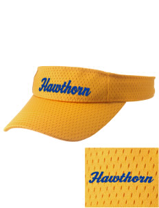 Hawthorn Eagles Embroidered Woven Cotton Visor