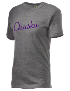 Chaska Elementary School Little Hawks Embroidered Alternative Unisex Eco Heather T-Shirt