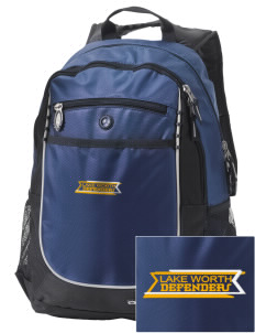 Lake Worth Christian School Defenders Embroidered OGIO Carbon Backpack