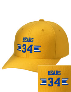 Elm Elementary School Bears Embroidered Wool Adjustable Cap