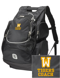 West Elementary School Tigers  Embroidered OGIO Bounty Hunter Backpack