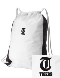 West Elementary School Tigers Embroidered Holloway Home and Away Cinch Bag