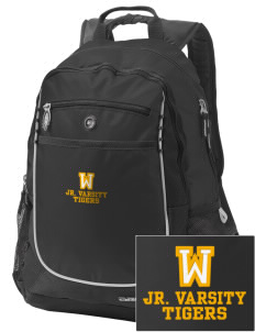 West Elementary School Tigers Embroidered OGIO Carbon Backpack