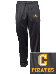 Concord Elementary School Pirates Embroidered Men's Tricot Track Pants