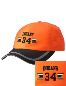 Inez Elementary School Indians  Embroidered Safety Cap