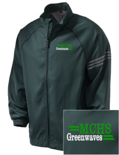 Meade County High School Greenwaves Embroidered adidas Men's ClimaProof Jacket