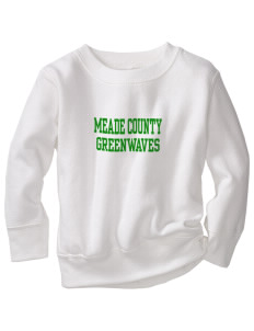 Meade County High School Greenwaves Toddler Crewneck Sweatshirt