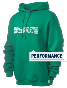 Meade County High School Greenwaves Russell Men's Dri-Power Hooded Sweatshirt