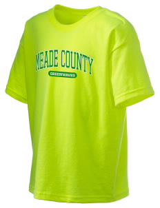 Meade County High School Greenwaves Kid's 6.1 oz Ultra Cotton T-Shirt