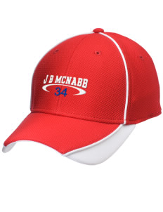 J B McNabb Middle School Indians Embroidered New Era Contrast Piped Performance Cap