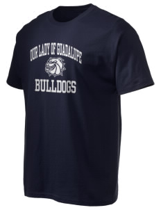Our Lady Of Guadalupe School Bulldogs Hanes Men's 6 oz Tagless T-shirt