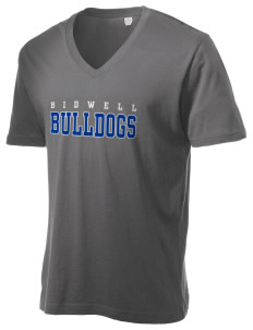 Bidwell Elementary School Bulldogs Alternative Men's 3.7 oz Basic V-Neck T-Shirt