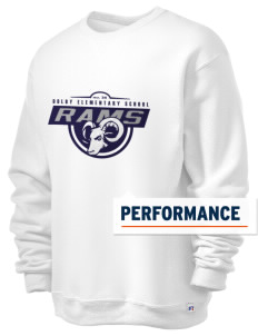 Dolby Elementary School Rams  Russell Men's Dri-Power Crewneck Sweatshirt