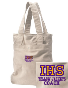 Iowa High School Yellow Jackets Embroidered Alternative The Berkeley Tote