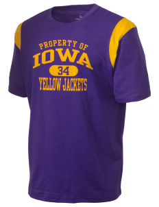 Iowa High School Yellow Jackets Holloway Men's Rush T-Shirt